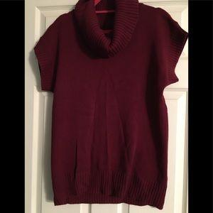 Jeanne Pierre cowl neck tunic sweater